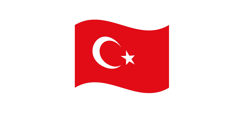 turkey wave flag