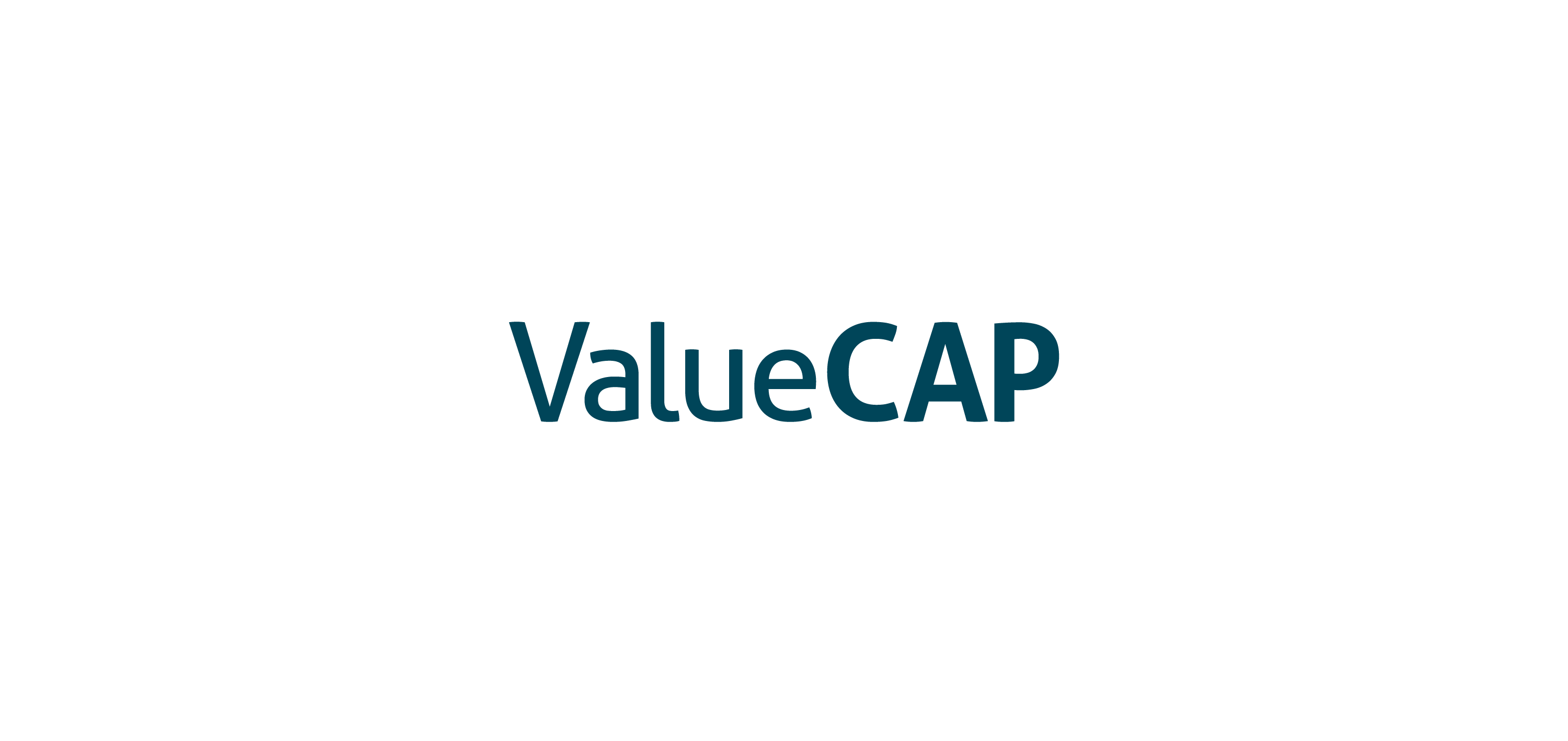 value cap logo vector