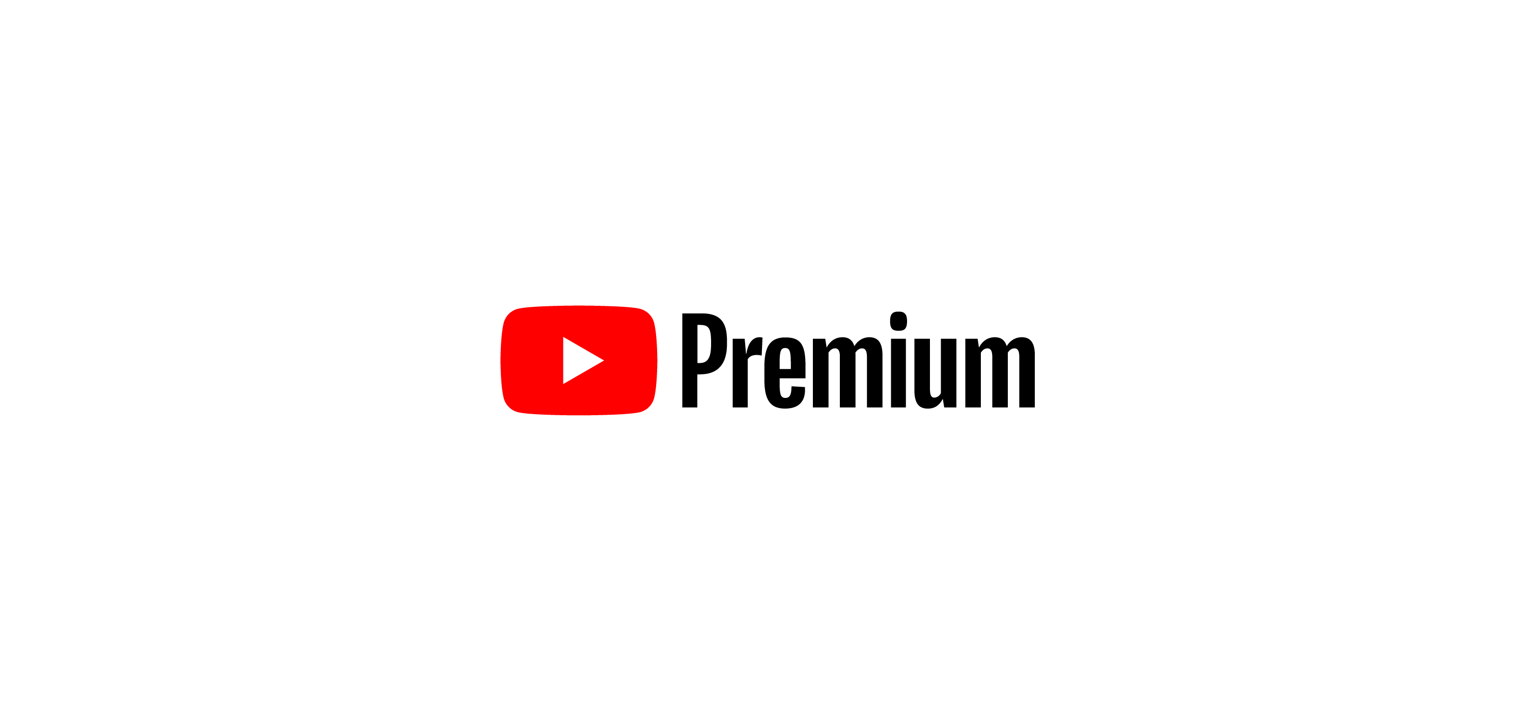 YouTube Premium logo vector