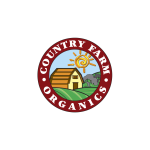 Country Farm Organics Logo Vector Download