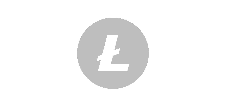 litecoin vector icon logo