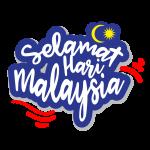 Selamat Hari Malaysia Text Vector