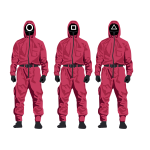 Squid Game Vector Soldier Mask