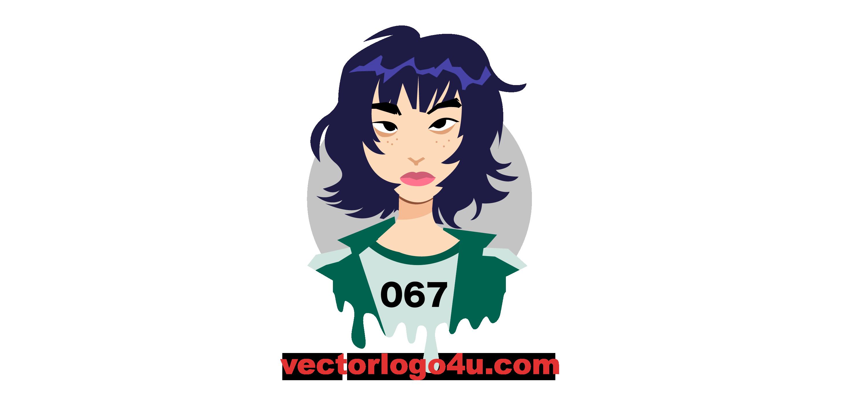 067 squid Game vector