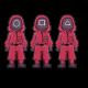 soldier squid game vector